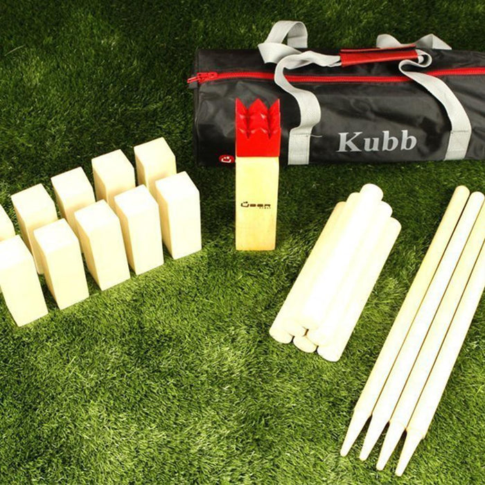 Uber Premium Wooden Kubb Game