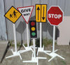 Image of Kids Play Set Of Traffic Signs