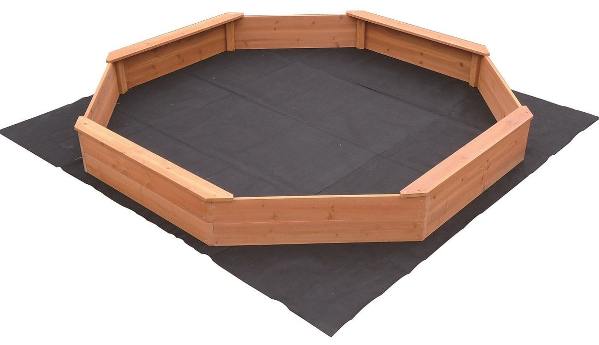 Kids Sand Pit Large Octagonal Wooden Sandpit - Kids Car Sales