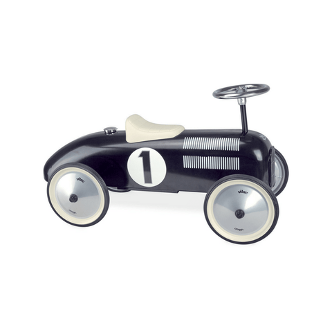 Vilac Classic Vintage Kids Ride On Toy Car Black