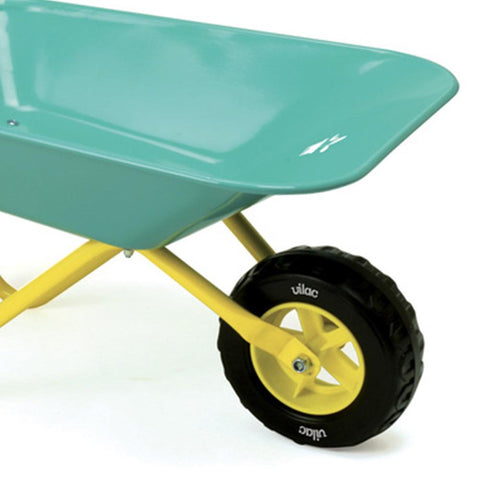 Vilac Kids Blue Mini Metal Wheelbarrow