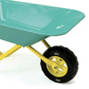 Image of Vilac Kids Blue Mini Metal Wheelbarrow