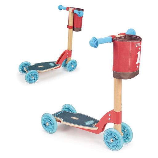 Vilac Kids Ride-On Wooden Scooter