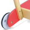 Image of Vilac Retro Kids Wooden Walk-Along Push-Pull Trolley