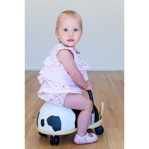 Wheely Bug Cow Kids Ride On Toy