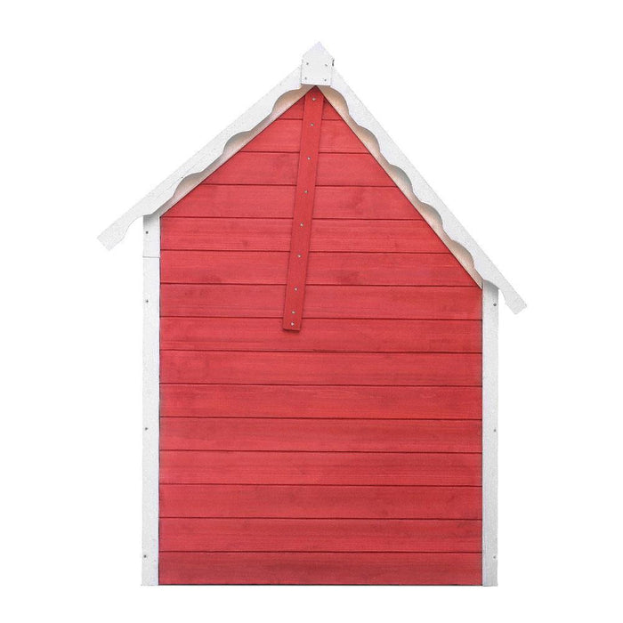 Kids Cubby House Wooden Cottage Playhouse - Kids Car Sales
