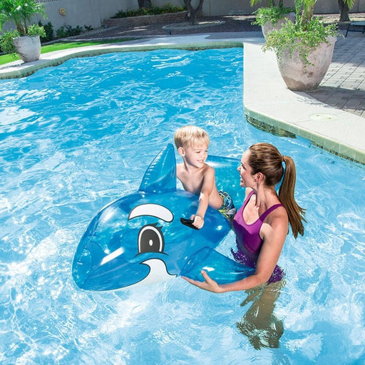 Whale Rider Pool Inflatable Float Toy With Handles - Kids Car Sales