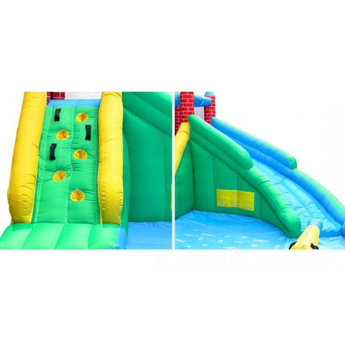 Windsor 2 Slide and Splash  Inflatable Jumping Castle with Water Pool