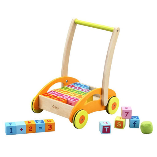 Wooden Baby Walker With Blocks by Classic World - Kids Car Sales