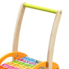 Image of Wooden Baby Walker With Blocks by Classic World