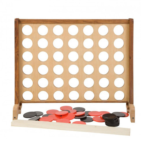 Wooden Giant 4 Supersized Giant Connect 4 Style Game 80cm x 70cm - Kids Car Sales
