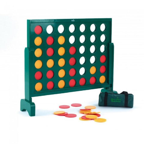 Wooden Jumbo 4 Supersized Giant Connect 4 Style Game 73cm x 84cm