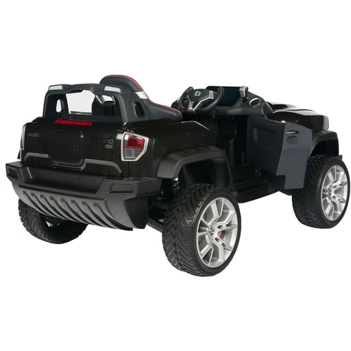 Henes Broon Black T870 4WD 24v Kids Ride On Luxury SUV With Tablet PC - Kids Car Sales