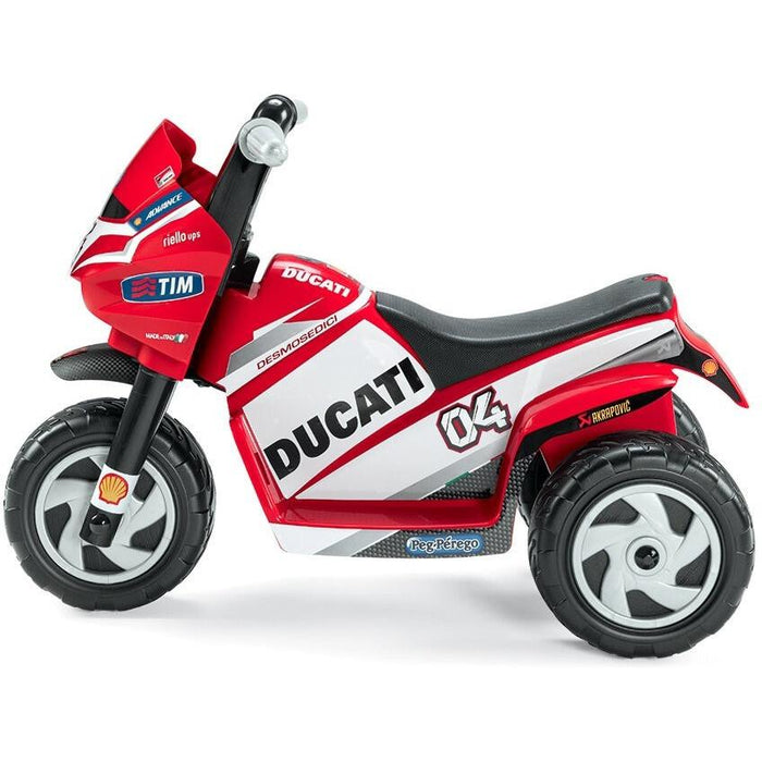 Peg Perego Peg Perego Ducati Mini 6v Kids Ride-On Motorbike IGMD0005