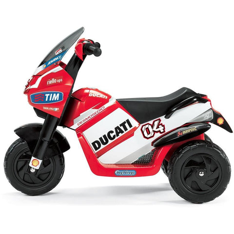 Peg Perego Ducati Desmosedici 6v Kids Ride-On Motorbike - Kids Car Sales