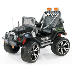 Peg Perego Gaucho Superpower 24v Twin Seat Off-Road Kids Car