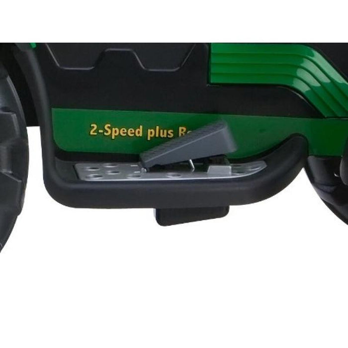 John Deere John Deere Ground Loader 12v Kids Ride On Tractor Digger With Scoop IGOR0069