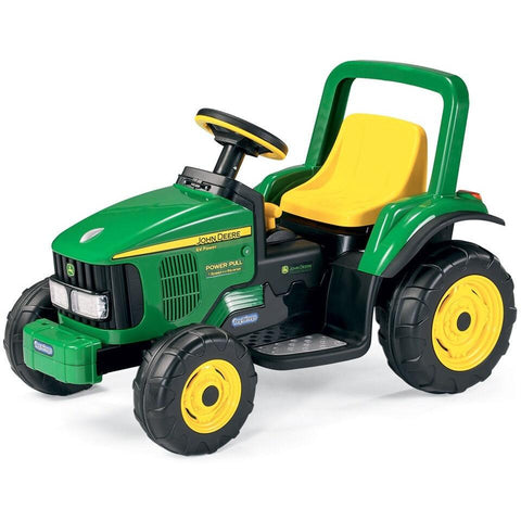Peg Perego John Deere Power Pull 6v Kids Ride-On Tractor