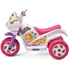 Peg Perego Mini Princess 6v Kids Ride-On Motorbike