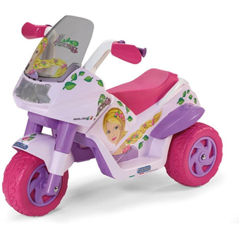 Peg Perego Raider Princess 6v Kids Ride-On Motorbike - Kids Car Sales