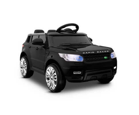 Range Rover Sport Inspired Black 12v Ride-On Kids Car - Kids Car Sales