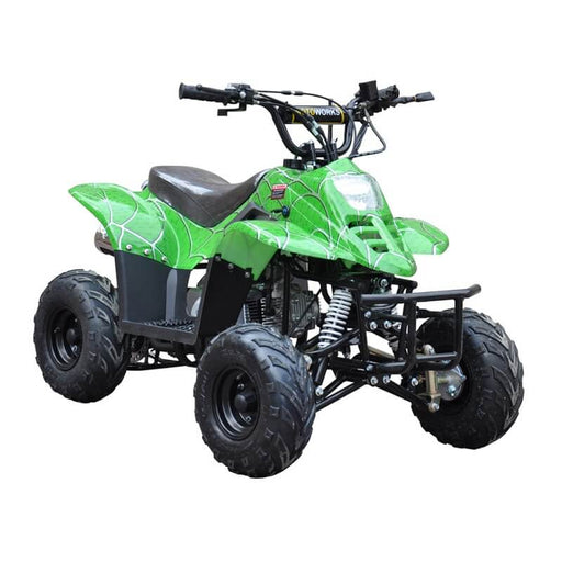 GMX Spider Green GMX Ripper 110cc Petrol-Powered 4-Stroke Kids Sports Quad Bike GE-YB110-SGN