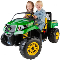 Image of Peg Perego John Deere XUV 550 12V Kids Ride On Gator