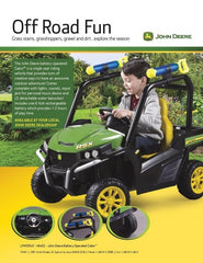 John Deere Gator 6v Kids Ride-On Gator With Water Cannons