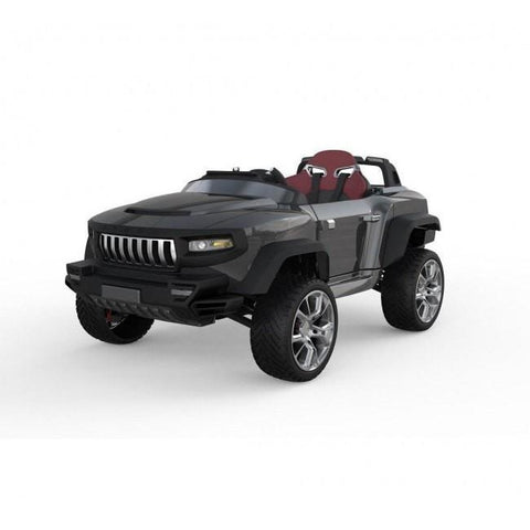 Henes Broon Black T870 4WD 24v Kids Ride On Luxury SUV With Tablet PC