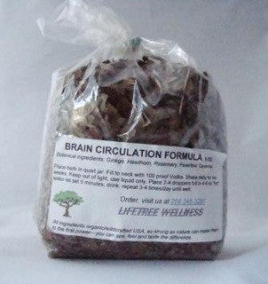 Brain Circulation Formula - Dry [6 oz.]