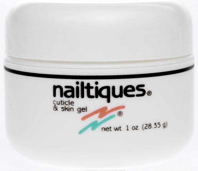 NAILTIQUES CUTICLE & SKIN GEL. - 1 OZ