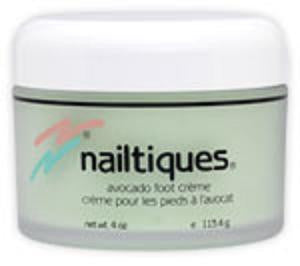 NAILTIQUES AVOCADO FOOT CREME - 4 OZ