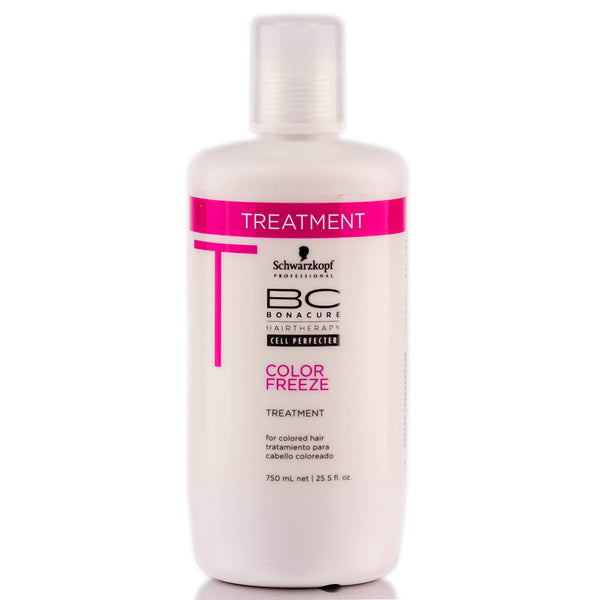 SCHWARZKOPF BC BONACURE COLOR FREEZE TREATMENT - 25.5 OZ