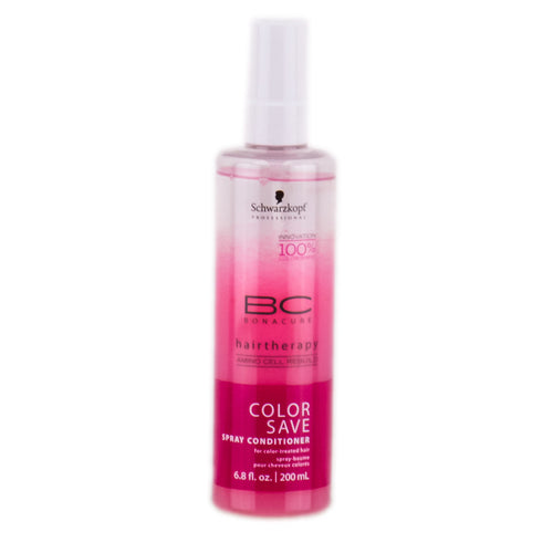 SCHWARZKOPF BC BONACURE COLOR SAVE - SPRAY LEAVE-IN CONDITIONER - 6.8 OZ