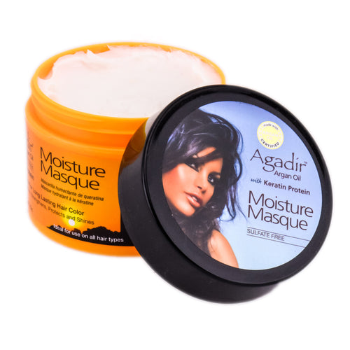 AGADIR ARGAN OIL MOISTURE MASQUE - 8 OZ