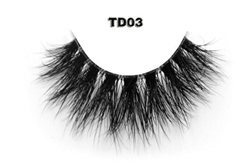 Invisible Transparent Band 3D Mink Eyelash TD03