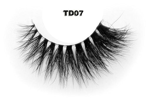 Invisible Transparent Band 3D Mink Eyelash TD07