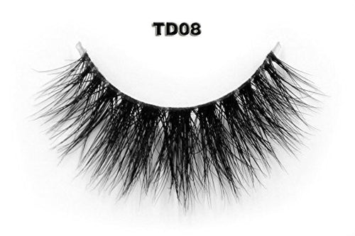Invisible Transparent Band 3D Mink Eyelash TD08