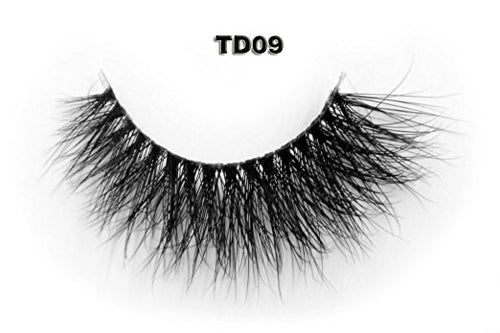 Invisible Transparent Band 3D Mink Eyelash TD09