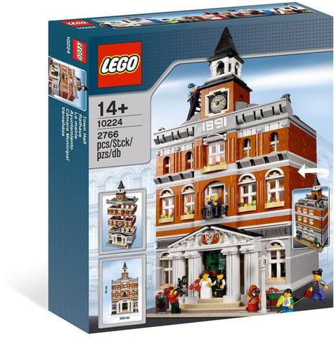 LEGO 10224 Town Hall  Big Big World