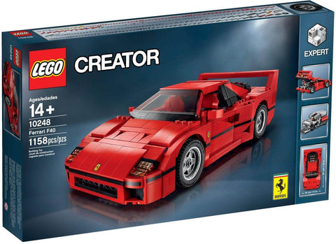 LEGO 10248 Ferrari F40  Big Big World