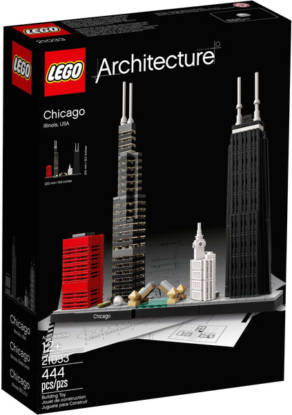 LEGO 21033 Chicago  Big Big World