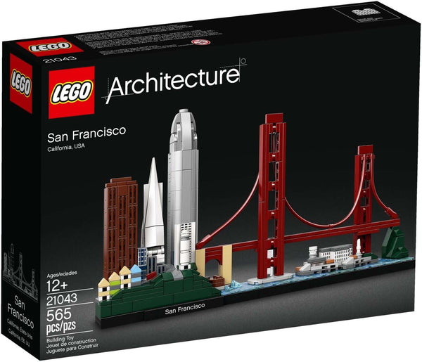 LEGO 21043 San Francisco  Big Big World