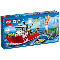 LEGO 60109 Fire Boat  Big Big World