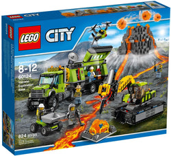 LEGO 60124 Volcano Exploration Base  Big Big World