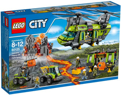 LEGO 60125 Volcano Heavy-Lift Helicopter  Big Big World