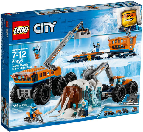 LEGO 60195 Arctic Mobile Exploration Base  Big Big World