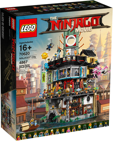 LEGO 70620 NINJAGO City  Big Big World