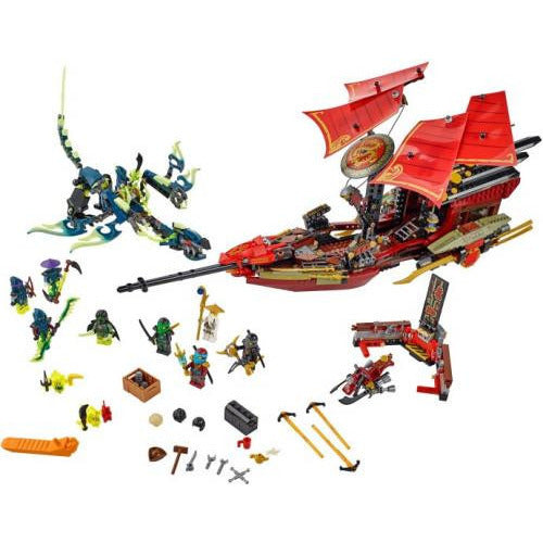 LEGO 70738 Final Flight of Destiny's Bounty  Big Big World