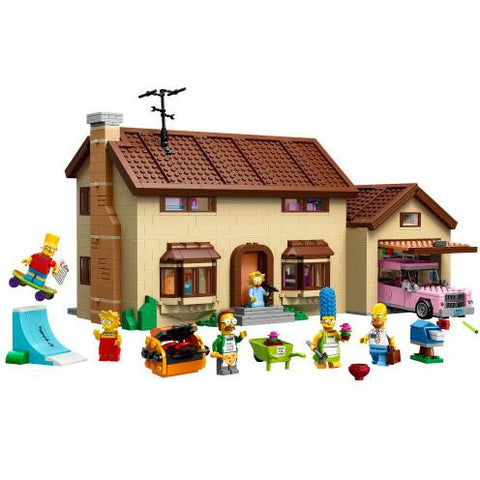 LEGO 71006 The Simpsons House  Big Big World